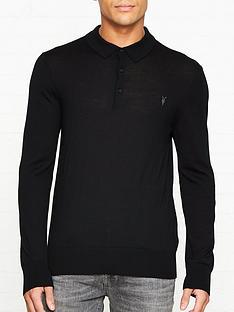allsaints-mode-merino-wool-long-sleeve-polo-shirt-black