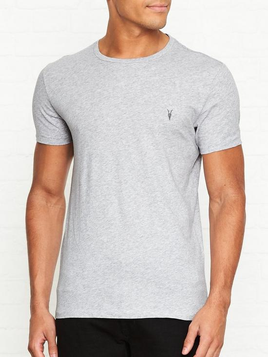 93ffa27e Tonic Crew Neck T-Shirt - Grey Marl
