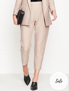 allsaints-aleidanbspcropped-trousers-pink
