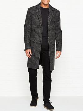 allsaints-dowell-check-wool-coat-charcoal