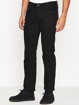 allsaints-reed-straight-slim-fit-jeans-black