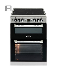 Leisure CS60CRX 60cm Cuisinemaster Electric Cooker (Stainless Steel) - With Optional Connection