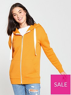 v-by-very-basic-long-line-zip-through-hoodienbsp--yellow