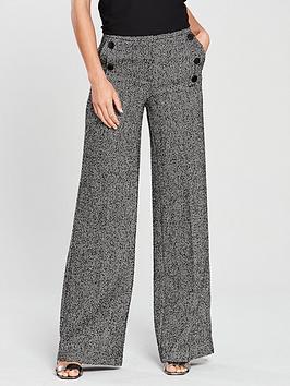 v-by-very-herringbone-wide-leg-trouser-grey