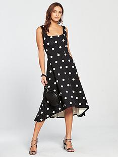 v-by-very-oversized-spot-prom-dress-printed