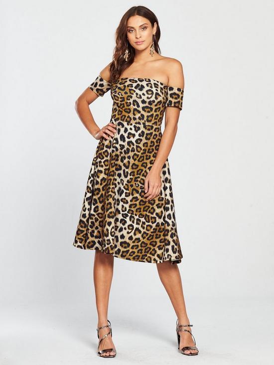 f79f40dfd3 Leopard Prom Dress - Printed