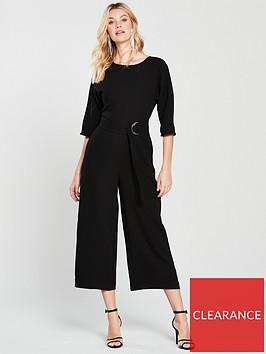 warehouse-o-ring-jumpsuit-black