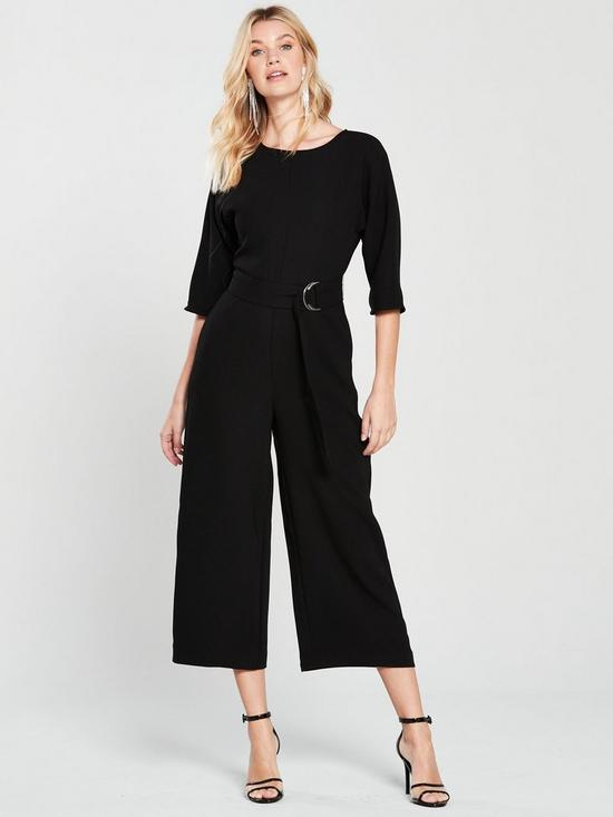 8988c96be0 Warehouse O-Ring Jumpsuit - Black