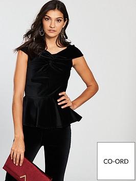 v-by-very-velvet-bardot-top-black