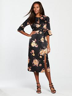 miss-selfridge-miss-selfridge-floral-jacquard-midi-dress