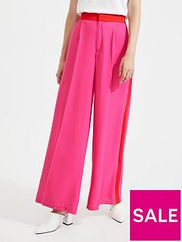 miss-selfridge-floaty-wide-leg-trouser-pink