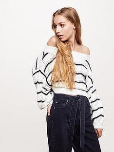 miss-selfridge-stitchy-bardot-stripe-jumper-blacknbsp