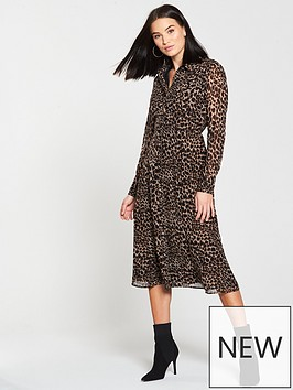 warehouse-midi-dress-animal-print