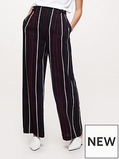 miss-selfridge-stripe-wide-leg-trouser-blacknbsp