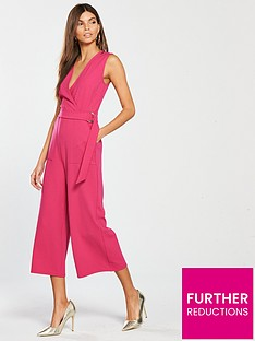 v-by-very-wrap-culotte-jumpsuit-pink