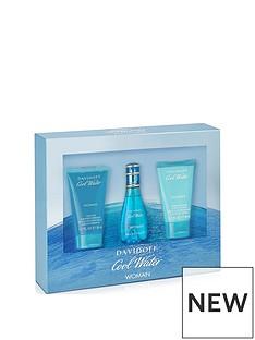 davidoff-davidoff-cool-water-30ml-edt-50ml-body-lotion-50ml-shower-gel-gift-set