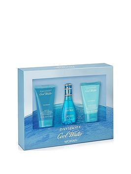 davidoff-davidoff-cool-water-30ml-edt-50ml-body-lotion-50ml-shower-gel-gift-set