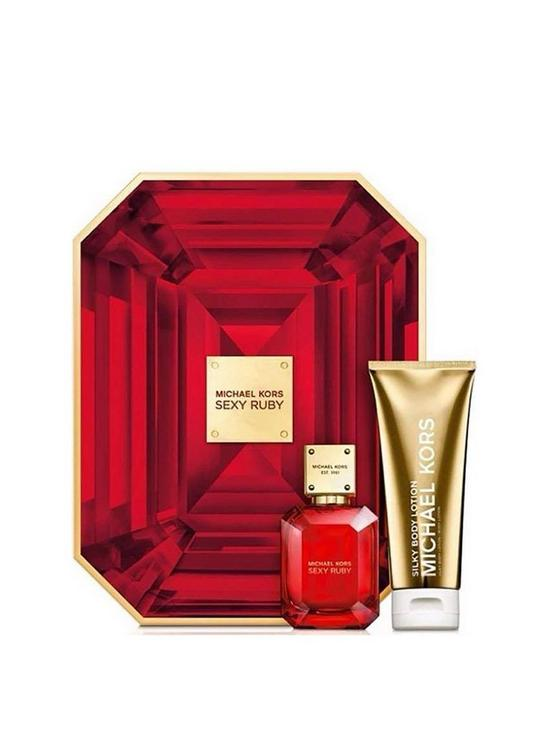 33580596c6d3a MICHAEL KORS Sexy Ruby EDP and Body Lotion Gift Set | very.co.uk