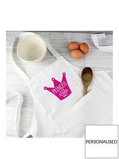 personalised-childrens-princeprincess-kitchen-apron