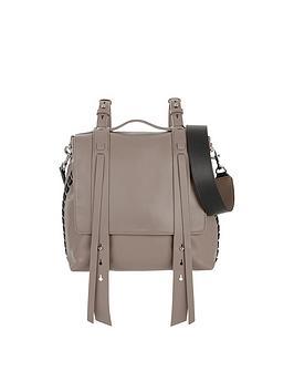 allsaints-fin-multi-way-shoulder-backpack-brown