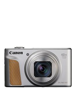 Canon Canon Powershot Sx740 Hs Camera Silver 20.3Mp 40X Zoom Fhd Wifi