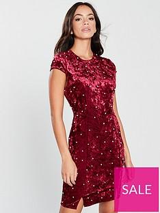 girls-on-film-pearl-velvetnbspbodycon-dress-burgundy