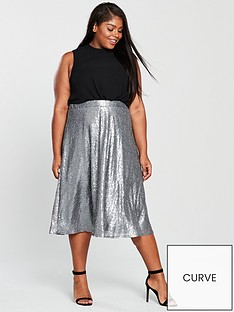 little-mistress-curve-little-mistress-curve-chiffon-top-sequin-2-in-1-midi-dress