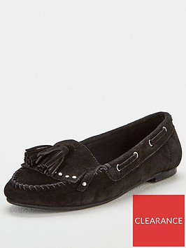 v-by-very-mindy-real-suede-tassel-loafers-black