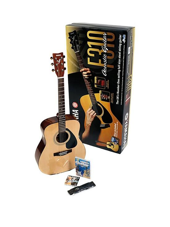 F310BPAC Acoustic Guitar Pack with Free Online Music Lessons