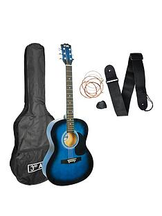 3rd-avenue-3rd-avenue-acoustic-guitar-pack-blueburst-with-free-online-music-lessons
