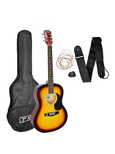 3rd-avenue-3rd-avenue-acoustic-guitar-pack-sunburst-with-free-online-music-lessons