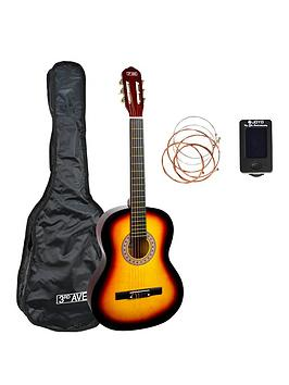 3rd-avenue-34-size-classical-guitar-pack-sunburst-with-free-online-music-lessons