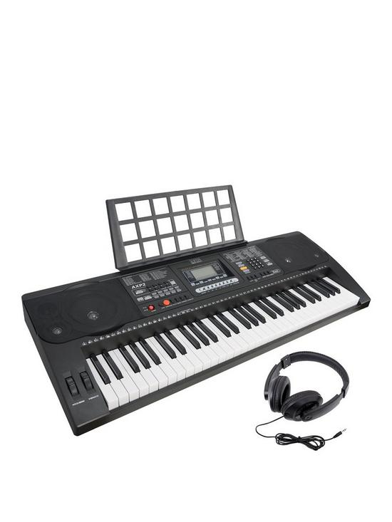 Axus Digital AXP2 Portable Keyboard with Free Online Music Lessons