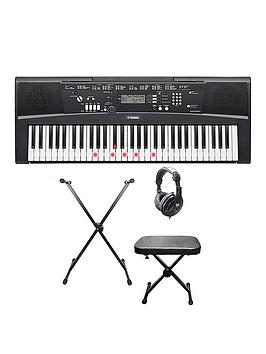 yamaha ez220 portable digital keyboard pack with free. Black Bedroom Furniture Sets. Home Design Ideas