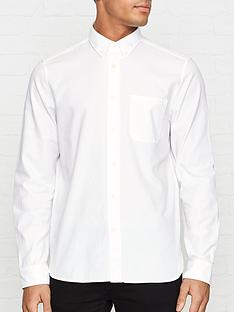 hugo-ermann-oxford-shirt-white