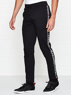 hugo-dusten-logo-tape-joggers-black