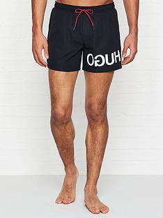 hugo-martinique-reverse-logo-swim-shorts-black