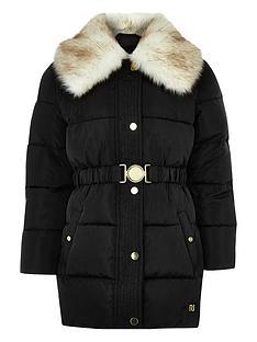river-island-girls-black-faux-fur-collar-belted-coat