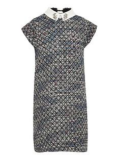 river-island-girls-boucle-diamante-collar-shift-dress-blue