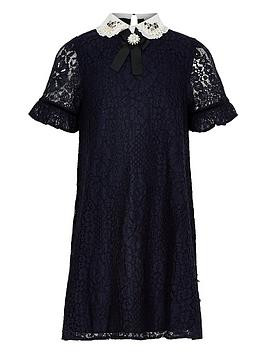 river-island-girls-navy-lace-embellished-collar-dress