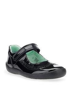 start-rite-lizzy-girls-patent-strap-shoe