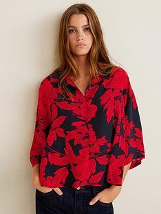 mango-floral-blouse