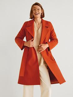 mango-buttoned-wool-coatnbsp--red
