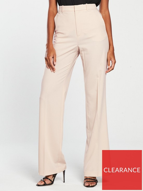 1ae8460c1b Mango High Waist Palazzo Trouser | very.co.uk