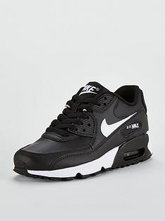 6744557c396e Nike Air Max 90 Ltr Bg Junior Trainers