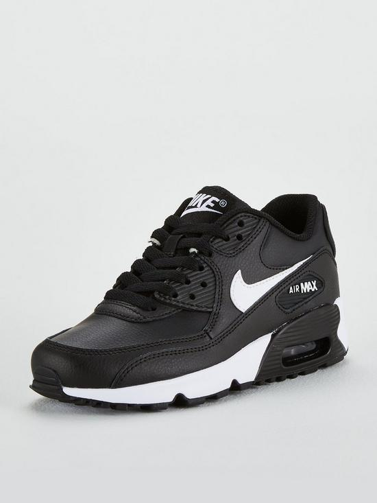 finest selection 9a515 ddab9 Nike Air Max 90 Ltr Bg Junior Trainers