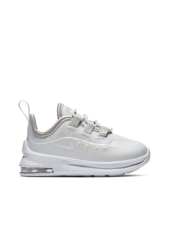 535a08d3e1 Nike Air Max Axis Infant Trainers - White/Iridescent | very.co.uk