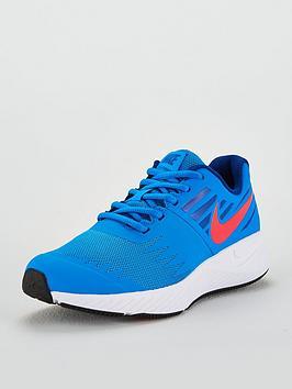 nike-star-runner-junior-trainers-bluered
