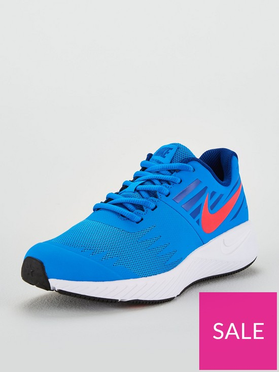 d7b6fcb3e0 Nike Star Runner Junior Trainers - Blue/Red | very.co.uk