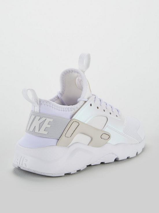 d3ca60953f ... Nike Air Huarache Run Ultra Junior Trainers - White Iridescent. View  larger
